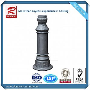 Decorative Cast Aluminum Lamp Posts
