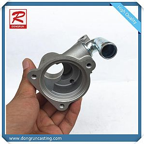 Cast Aluminum Thermostat Housing Water Pipe Cooling Coolant Water Flange Pipe