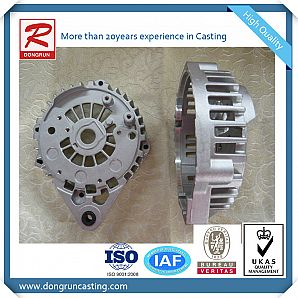 Customized Cast Aluminum Alternator Housings